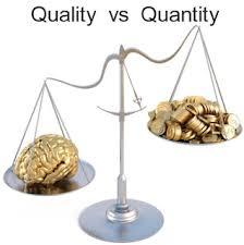 Kualitas dan Kuantitas